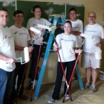 Thank you to our volunteers from Constellation Energy who came out yesterday to help us paint!