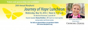 Maryhurst Journey of Hope Luncheon @ The Louisville Downtown Marriott