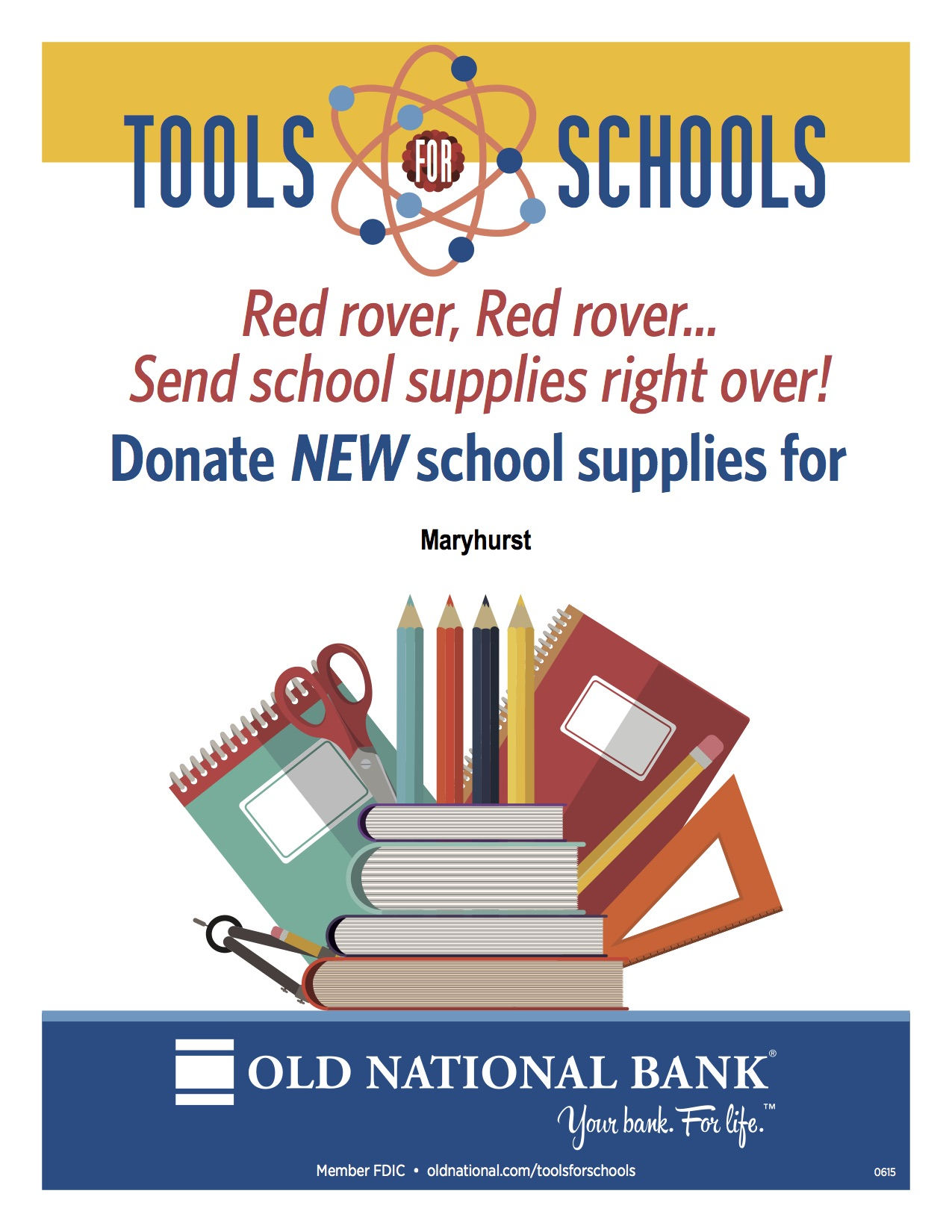 Old National Bank - Tools for Schools